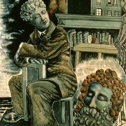 Alberto Savinio, «Il sogno del poeta» (Bridgeman-Alinari)