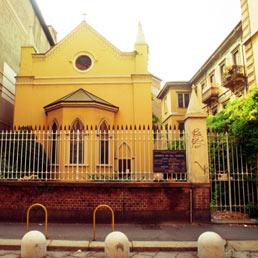Chiesa anglicana di Milano (Fotogramma)