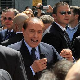 Berlusconi in tribunale: «Magistrati contro il Paese. Ruby? Le ho datto soldi per non prostituirsi» (Epa)
